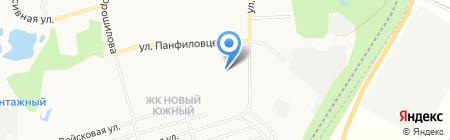 Детский сад №80 на карте Хабаровска