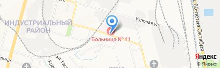 Галерея цветов на карте Хабаровска