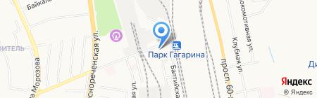 Торгтехника на карте Хабаровска