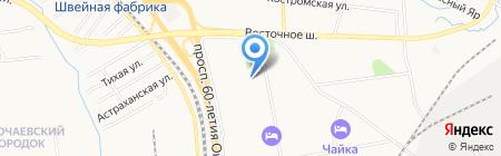 Магазин алкогольной продукции на карте Хабаровска