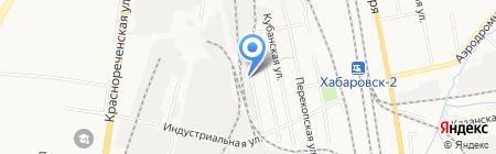 Региоснаб на карте Хабаровска
