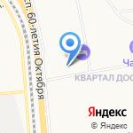 Городская поликлиника №7 на карте Хабаровска
