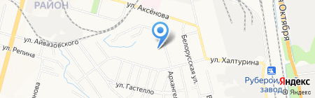 Центр художественно-эстетического развития на карте Хабаровска