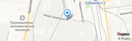 Формакс на карте Хабаровска