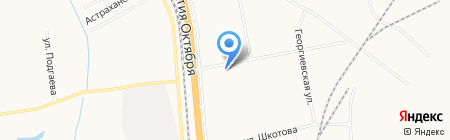 Карат на карте Хабаровска
