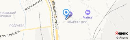 ПрезиДент на карте Хабаровска