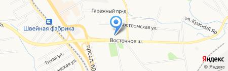 Дун Лун на карте Хабаровска