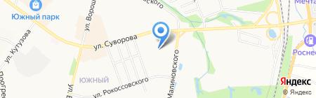 Астория на карте Хабаровска