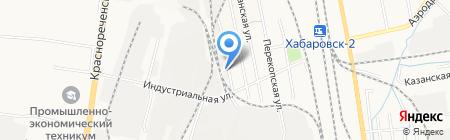 Акула на карте Хабаровска