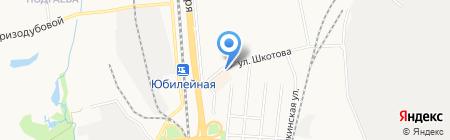 Автостоянка на ул. Шкотова на карте Хабаровска