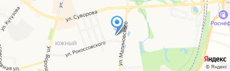 Специальная коррекционная общеобразовательная школа-интернат I вида для неслышащих детей на карте Хабаровска