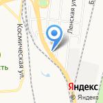 Велосипеды России на карте Хабаровска