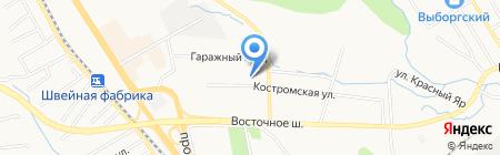 Дэкодент на карте Хабаровска
