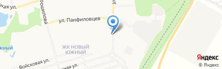 Светлана на карте Хабаровска