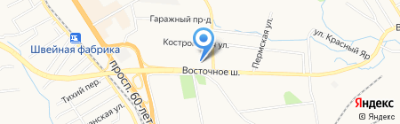 Автомеханика на карте Хабаровска