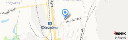 Валентина на карте Хабаровска