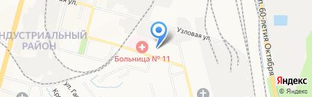 ЖЭУ №16 на карте Хабаровска