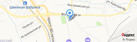 РАП на карте Хабаровска