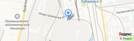Хейнекен Логистик на карте Хабаровска