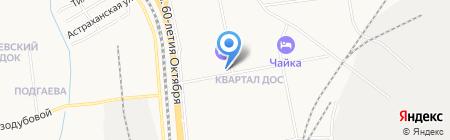Гламур на карте Хабаровска