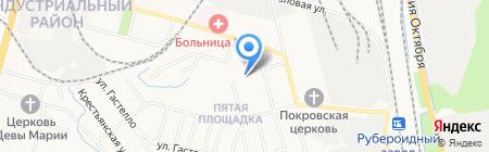 Средняя общеобразовательная школа №72 на карте Хабаровска