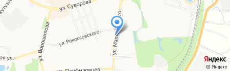 Магазин зоотоваров на карте Хабаровска