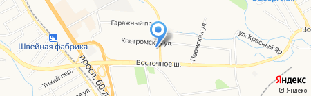 Эскалибур на карте Хабаровска