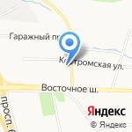 Электроцентр на карте Хабаровска
