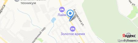 Армада-ДВ на карте Хабаровска