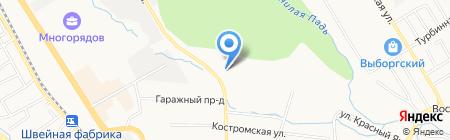 Инженерные системы на карте Хабаровска