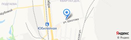 Альбатрос на карте Хабаровска