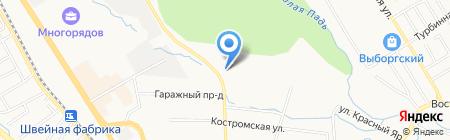 ТехПартТрейдинг на карте Хабаровска