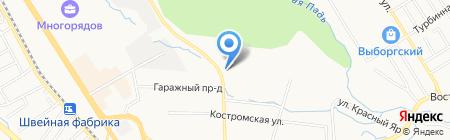 Бизнес-Восток на карте Хабаровска