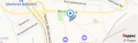 Средняя общеобразовательная школа №26 на карте Хабаровска