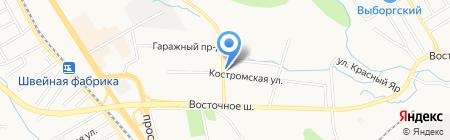 Колесо на карте Хабаровска