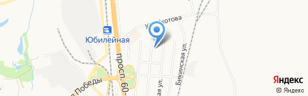 Муравейник на карте Хабаровска