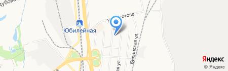 Бонифаций на карте Хабаровска