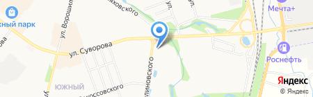 Paradise Travel на карте Хабаровска