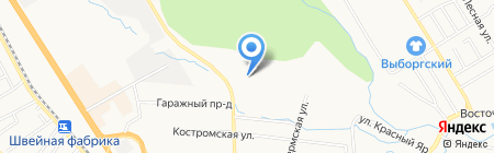 ТДС на карте Хабаровска