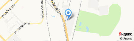 ТрансПозитив на карте Хабаровска