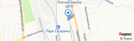 Абсолютная правда на карте Хабаровска