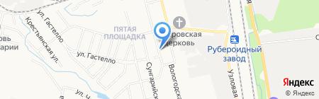 Зоомагазин на Белорусской на карте Хабаровска