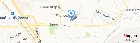 Чемпион на карте Хабаровска