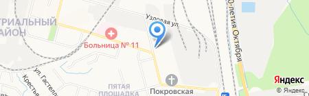 Детский сад №41 на карте Хабаровска