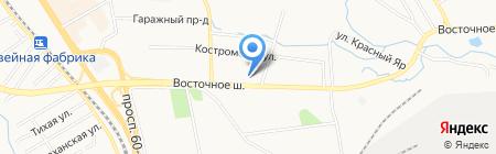 ВОСТОК-АВТО на карте Хабаровска
