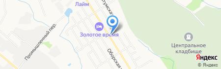 Альфавет на карте Хабаровска