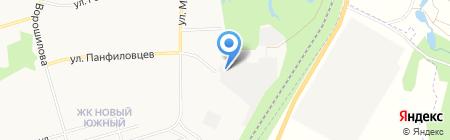 Автолайнер на карте Хабаровска