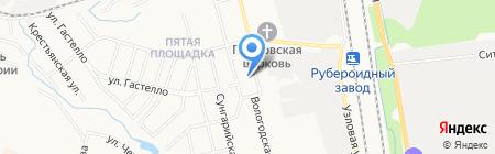 Мамин-Папин на карте Хабаровска
