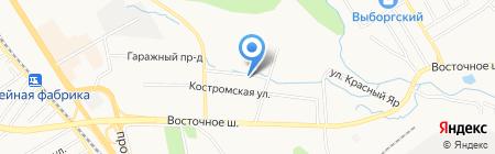 Композит на карте Хабаровска