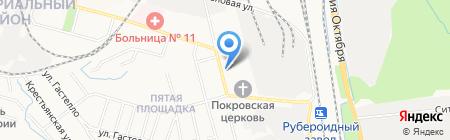 Эконом на карте Хабаровска